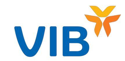 Bảng phí ngân hàng VIB