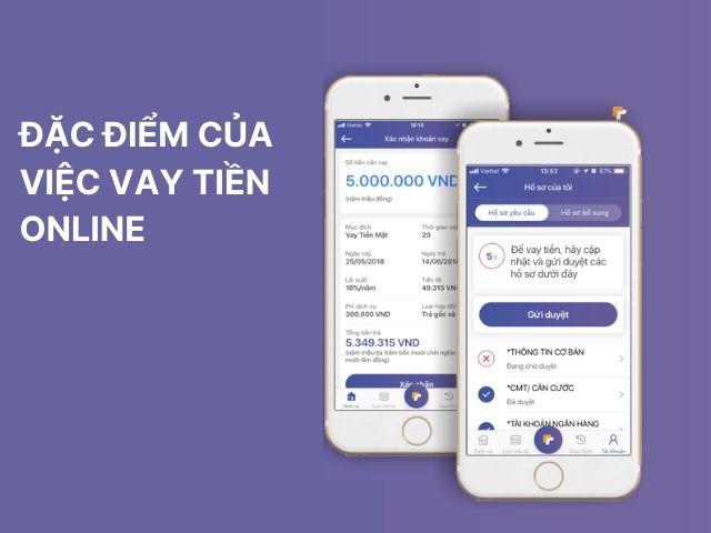Đặc điểm của việc vay tiền online nhanh